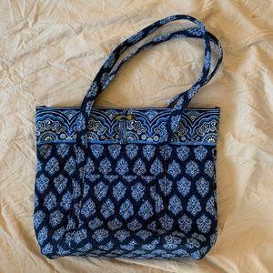 Vera Bradley Blue Calypso Tote Bag